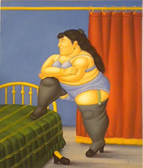Botero brings his unique situational portraiture to beijing 39 s national museum the beijinger - Donne in camera da letto ...