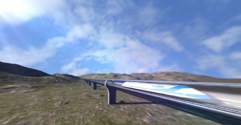 Tesla's Hyperloop pod just set a speed record of 354 km/h