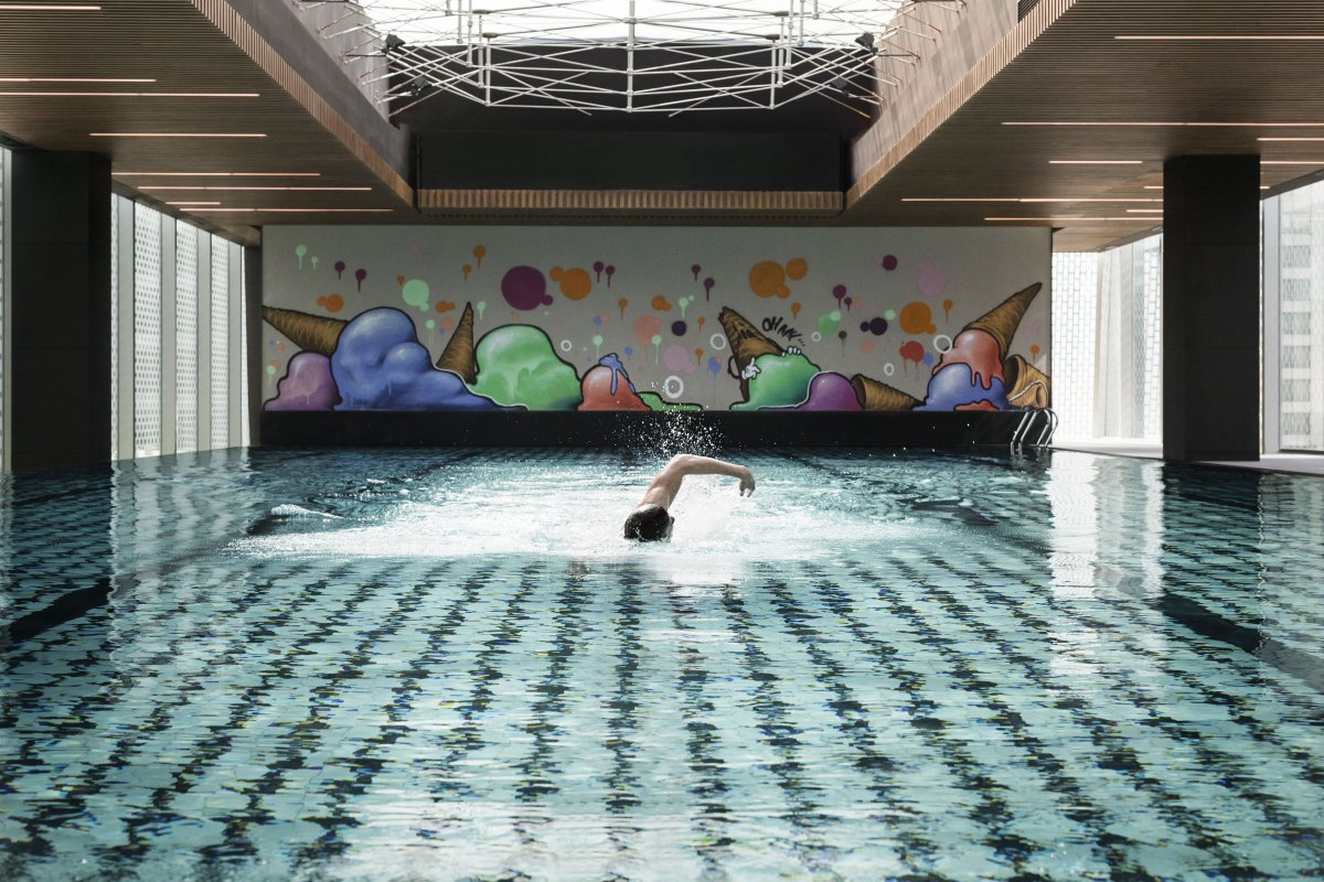Latest Pool Rich kids can try the latest addition to the CBD pool scene: This heated,  25m x 10m, five-lane indoor swimming pool on the ...