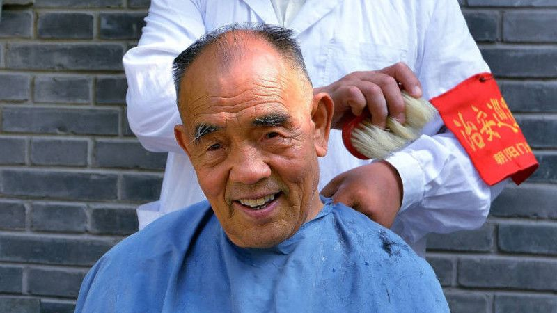 Get A Suave Hutong Haircut Courtesy Of A At Cu Ju Jan 30 The