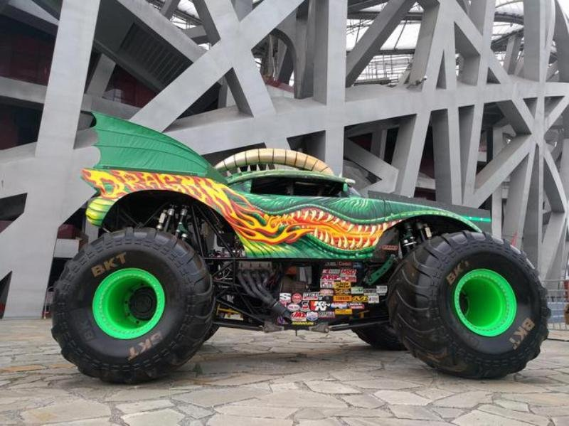 I Ve Got A Crush On You Monster Trucks Coming To Beijing July