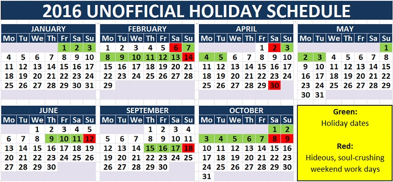 unofficial 2016 china holiday schedule making online rounds but too