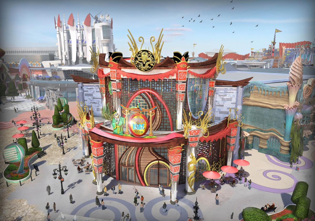 Giant New Theme Park to Arise North of Beijing