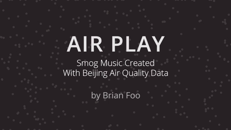 What Does Beijing's Pollution Sound Like? NYC DJ Spins PM 2.5 Data into a Soundtrack for the Airpocalypse
