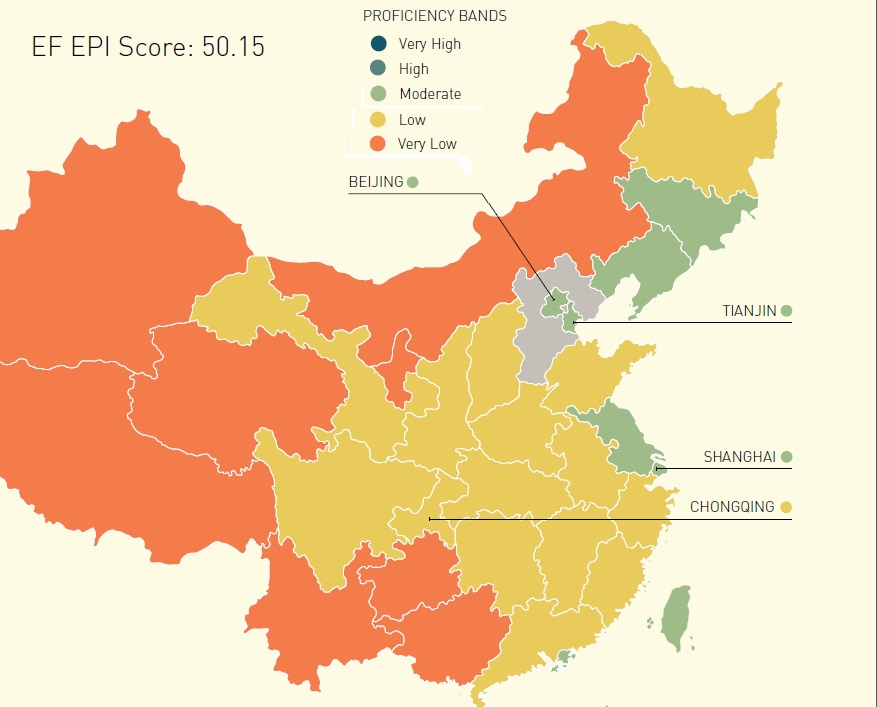 Beijing Outpaces Hong Kong in English Proficiency - the ...
