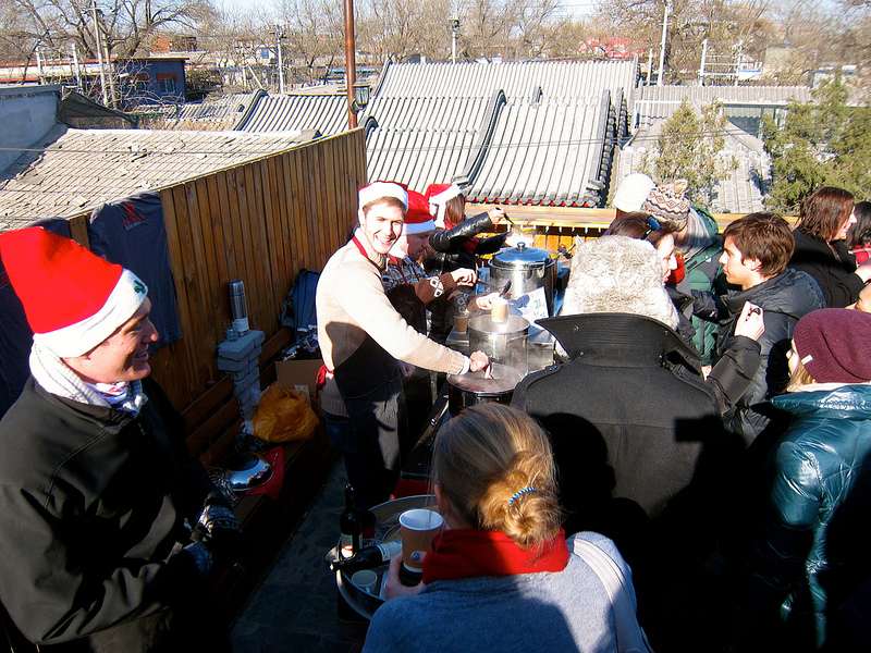 Ho-Ho-Hutong! It's beginning to look a lot like a Winter Fayre in the hutongs…