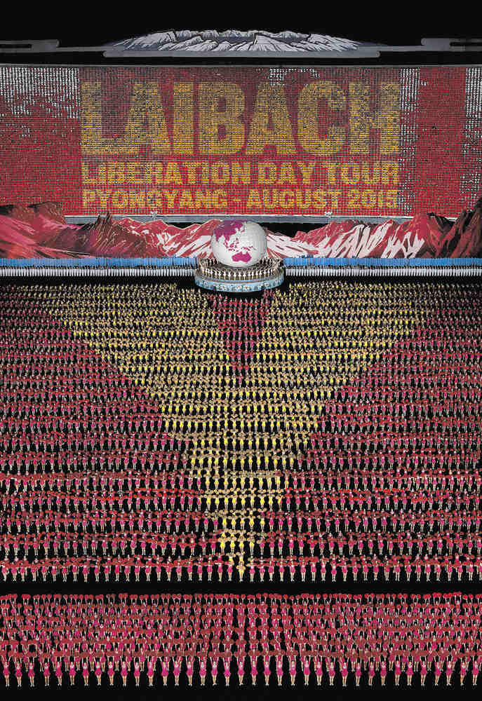 Laibach to Play North Korea August 19-20 -- And You Can Go (Maybe)