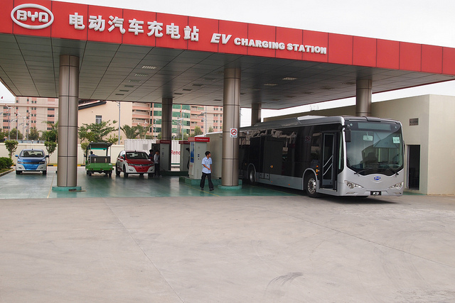 5e307651a4 It  039 s Electric  New Charging Stations Being installed on Beijing -Shanghai