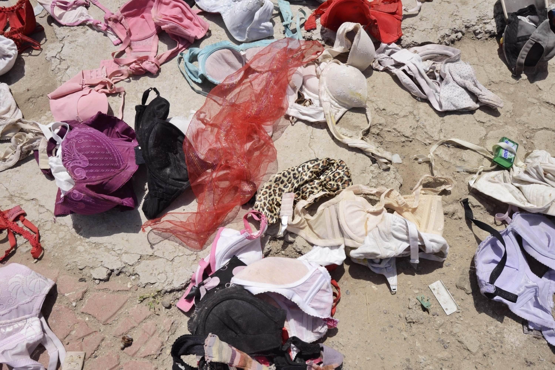 Big Pile of Bras Found Among Beijing Waste