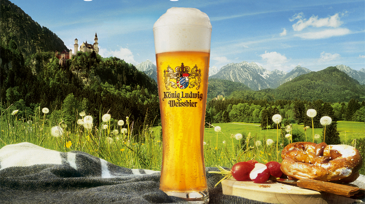 Mandarin Month: König Ludwig Weissbier Beer's Royal History (and How to Talk About a German Beer in Chinese)