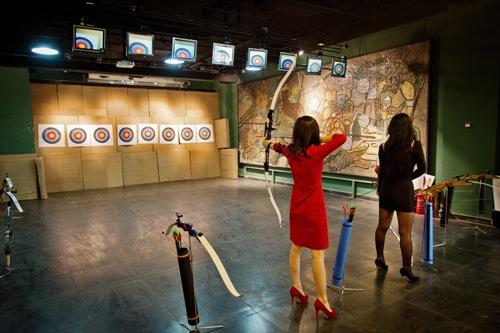 their aim is true  jian archery club