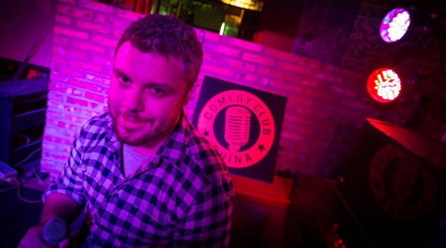 A Drink With: David Fertitta, Comedy Club China