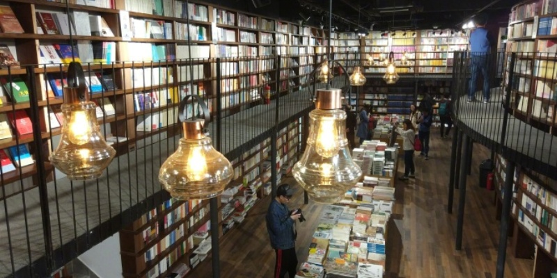 Beijings Newest 24 Hour Bookstore To Serve As Sanlituns Quiet