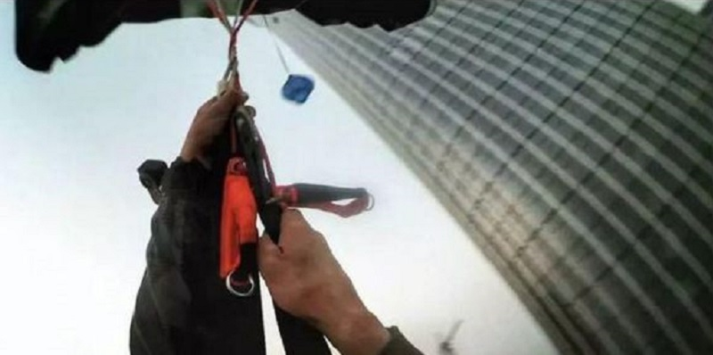 Russian Detained for BASE Jump Off Beijng's Tallest Building