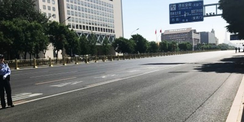"Beijing Becomes ""Ghost Town"" to Host Belt and Road Summit"