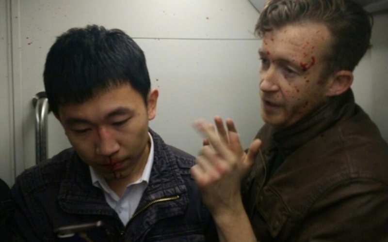 R Beijing Subway Passenger Bloodied by Expat Sparks Angry Backlash Against Foreigners