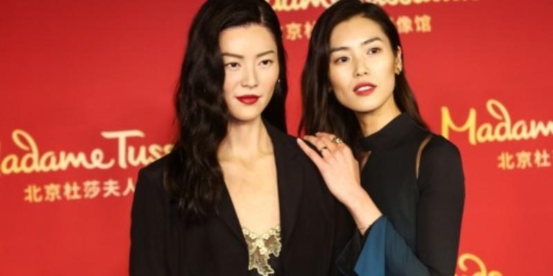 Wax Likeness of Supermodel Liu Wen Debuts at Madame Tussauds in Beijing