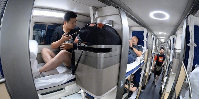 Beijing To Shanghai Trains Now Feature Personal Soft
