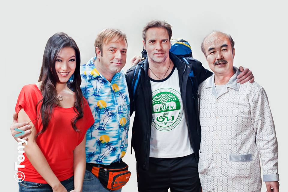 """Trailer for New Bilingual Sitcom """"No Dogs or Foreigners,"""" Tiny Times 3 Actors May Get Naked"""