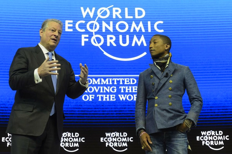 Pharrell Williams and Al Gore Announce Live Earth Concert in Beijing on June 18