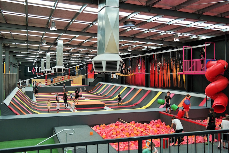 jump on it latitude trampoline park opens in shunyi the