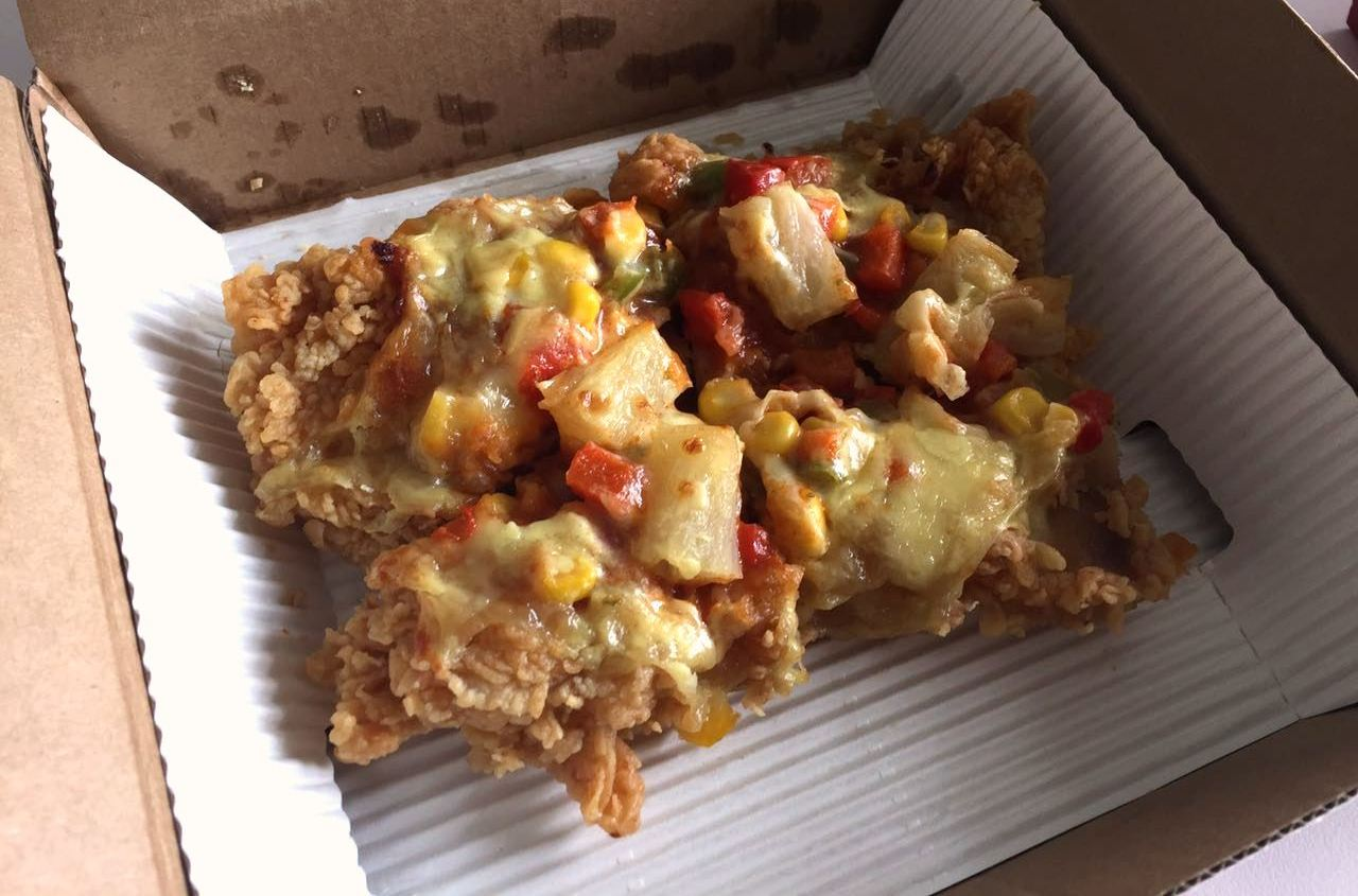 KFC Goes Full Prosaic With Their New Chicken Pizza à la Chizza