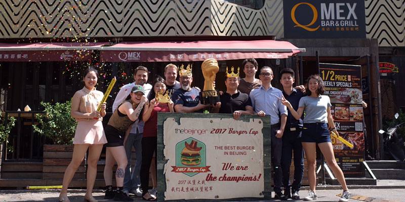 You Voted: Q Mex Crowned Beijing's Best Burger After Six Weeks of Battle in the Beijinger's 2017 Burger Cup