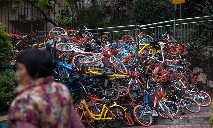 Will the Authorities Slow the Out-of-Control Roll of the Bike Sharing Revolution?