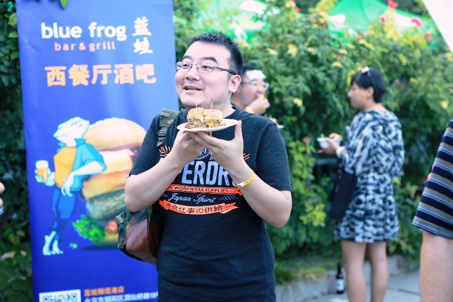 Photos: Spot Yourself Amongst the Burgers at the Beijinger 2015 Burger Cup
