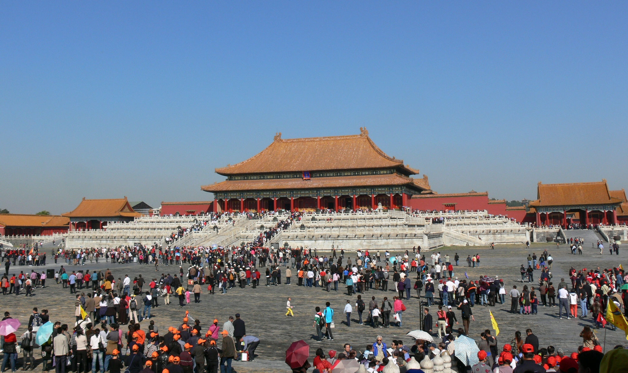 First Forecast in January: Forbidden City Now Limits Visitors to 80,000 Per Day