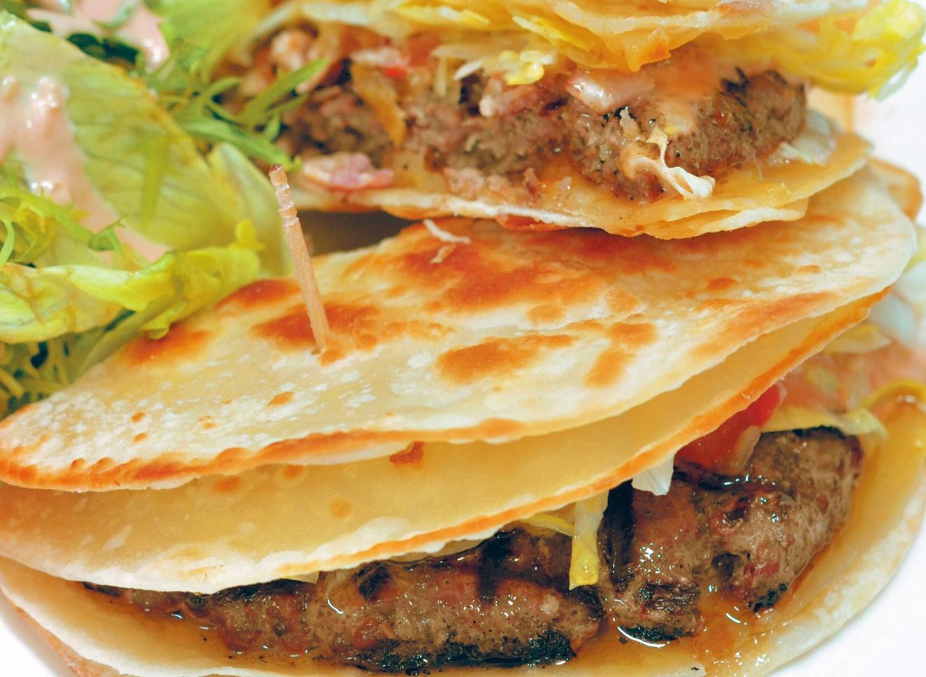 Burger Brief: Luga's Quesadilla Burger | China Expats