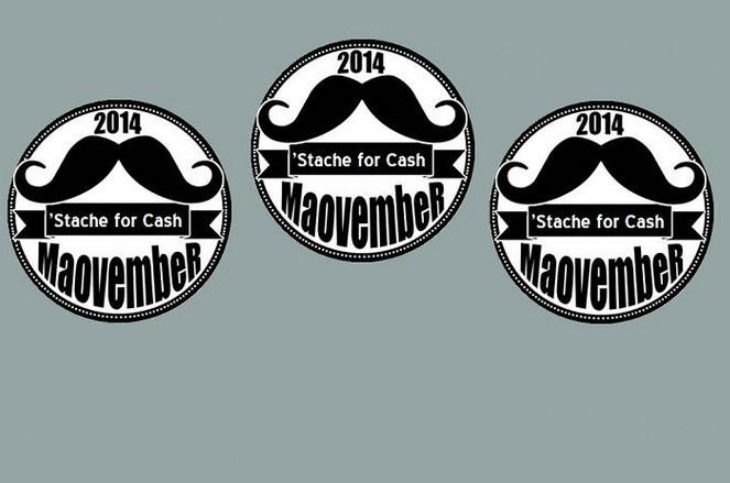 Maovember Beats Initial 2014 Fundraising Goal