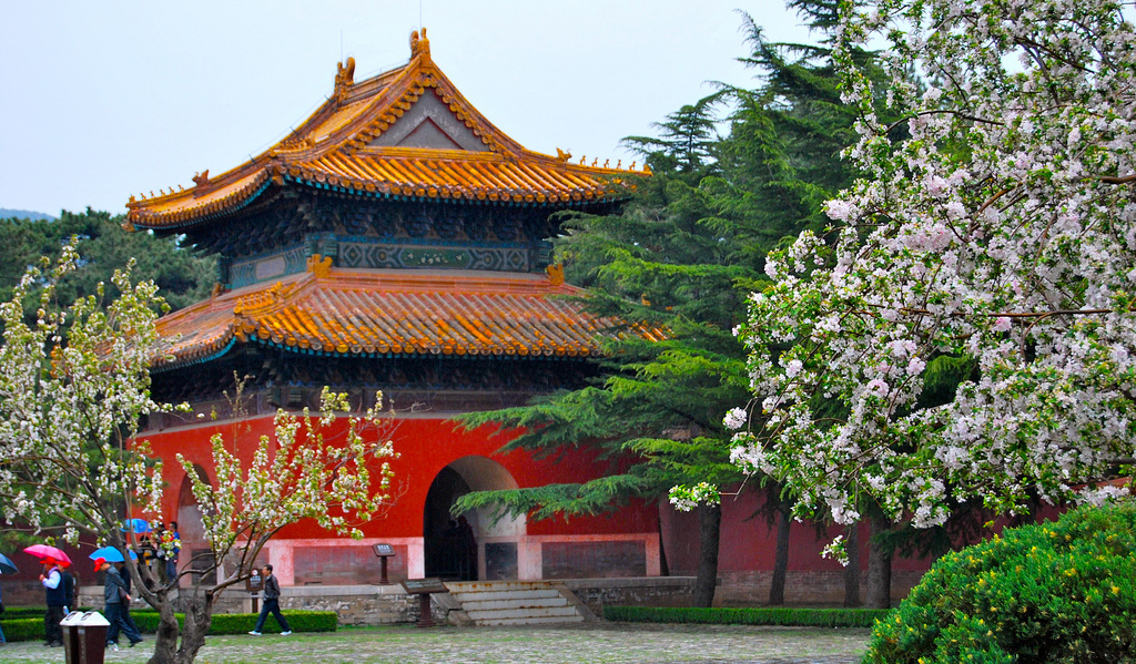 The Ming Tombs Reopen Just in Time for Tomb-Sweeping Day   the Beijinger