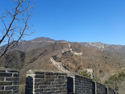 Visiting the New and Improved Mutianyu