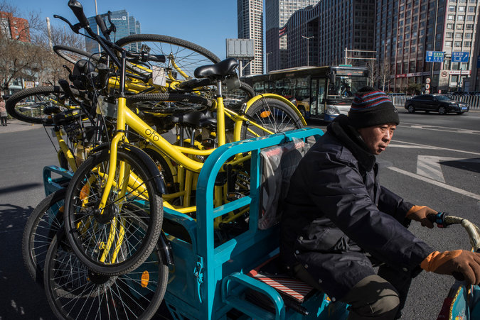 Now That Bike-Sharing is Wicked Convenient, Beijing Steps in to Make it Less So