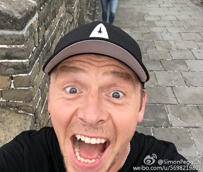 'Star Trek Beyond' Lives Longer to Prosper in China; Co-Writer Simon Pegg Beamed into Beijing