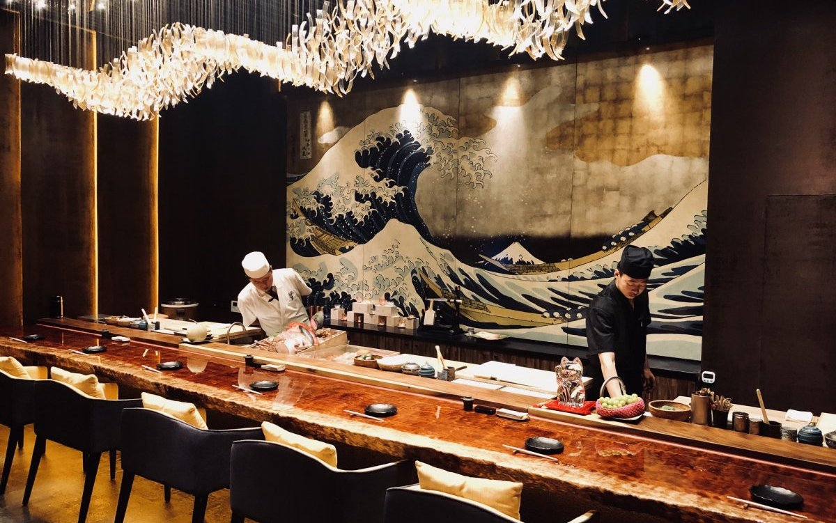 Qiu Sushi Whiskey Lives Up to Its Name With Pricey Japanese Delicacies Near Chaoyang Park