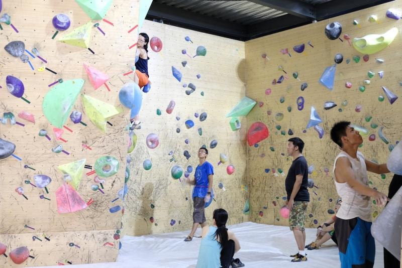 Rock Hour Climbing Gym Reaches New Heights In Xi Dawang