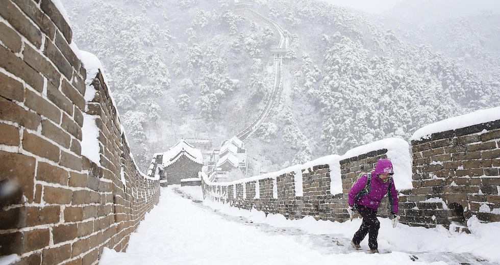 Beijing Saw its First Flakes of Winter This Weekend. Not Snow Fast, Says Meteorology Admin