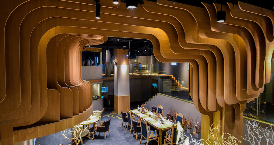 Newly-Opened Feast Brings Fancy Meat-Free Dining to Wanda Plaza