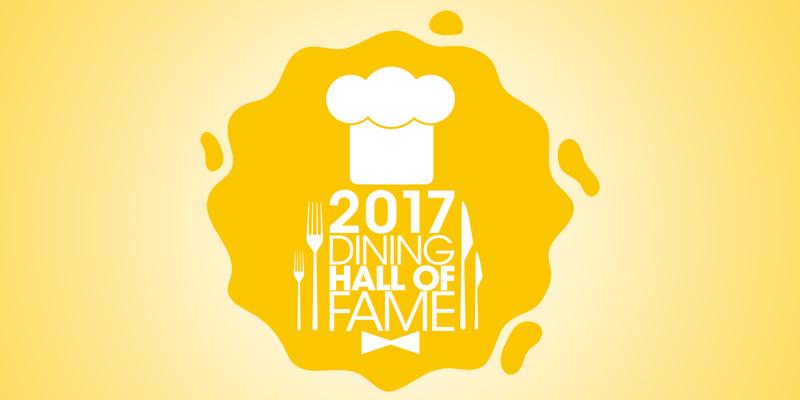 Jun Trinh of 4corners and Gireesh Chaudhury of Punjabi Enter Dining Hall of Fame