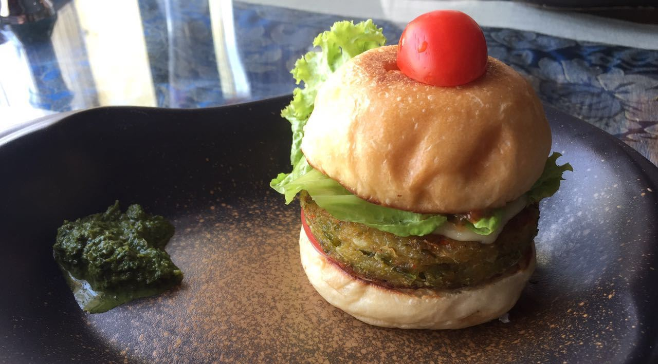 DP Eat Your Way Toward Greater Animal Rights With Our Veggie Burger Cup