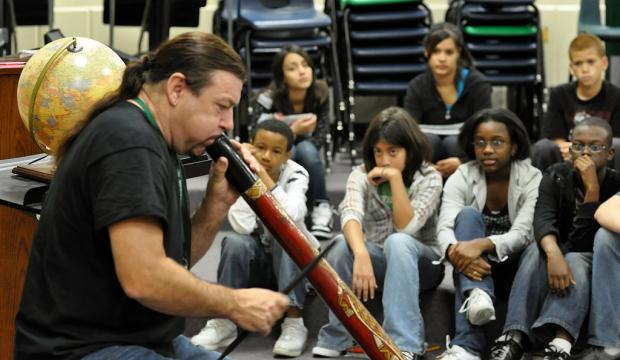 Q&A Didgeridoo and Harmonica Player Peter Harper Ahead of His March 24 Gig at DDC