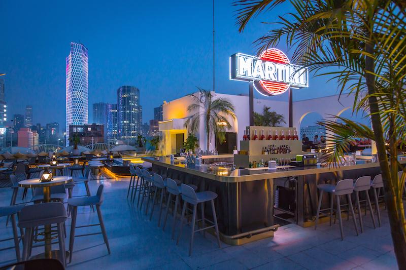 First Look: Swish Terrazza Martini Lounge Opens in Migas\' Former ...