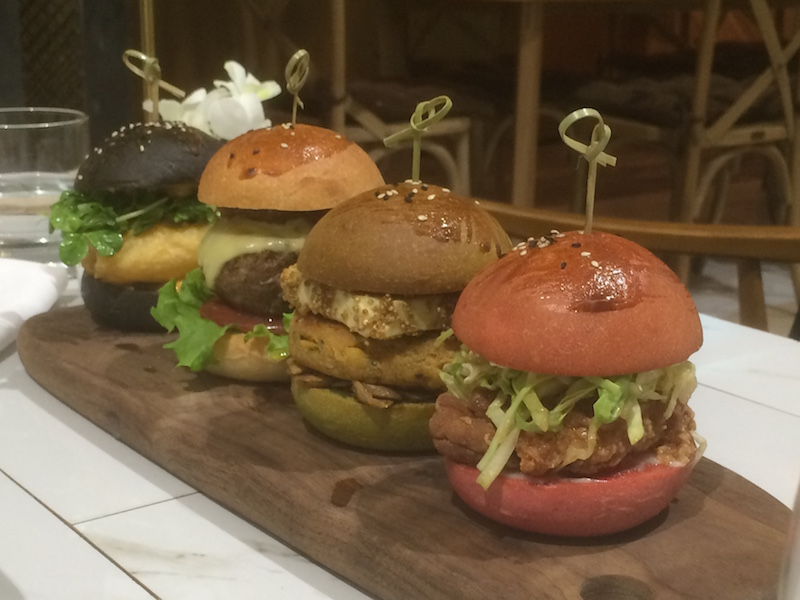 Grilled: Chat Room's Colorful, Creative Sliders | China Expats