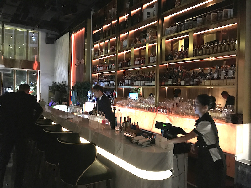 Fancy New Cocktail Bar Spring Sprouts Up In Shuangjing