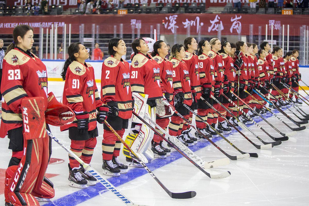 Olympicks Disbanding Of Women S Ice Hockey League Leaves Chinese