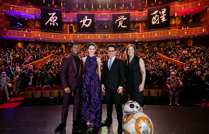Go the the Cinema You Must, Contribute to Star Wars setting records you Will