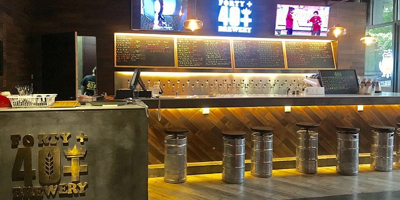 DP Forty+ Taphouse with 40+ Draught Beers Might Have The Best Imports Selection at Chaoyangmen