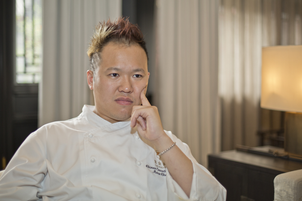 Master Chef: Menex Cheung has risen from humble roots to reintroduce fine Beijing cuisine to the World